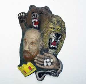 David concoured the Bear, the Lion and the Giant.